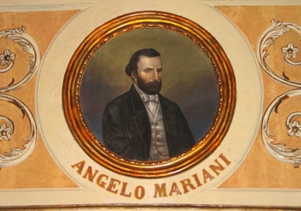 Medaglione raffigurante Angelo Mariani