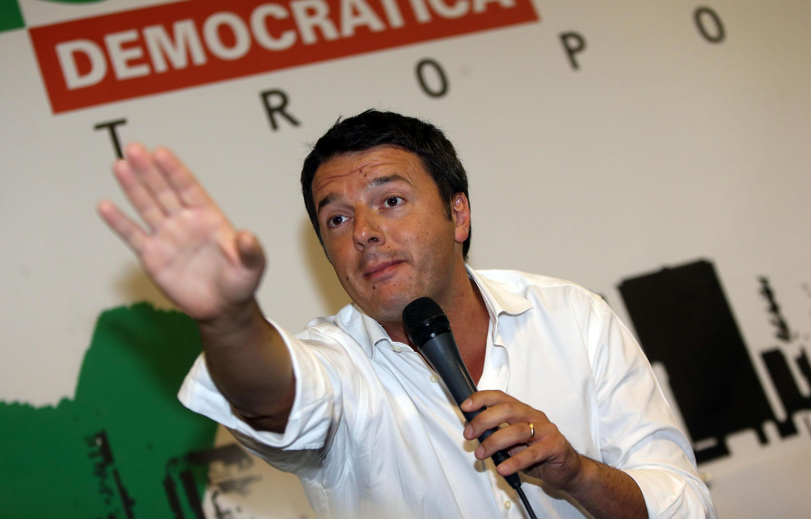 Renzi come mussolini il talebano come si fa una destra for Lista punch per la costruzione di nuove abitazioni